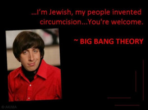 Funny Smart Quote from the American Sitcom Big Bang Theory