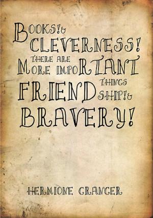 Alexandrico › Portfolio › Harry Potter Hermione Granger Quote