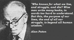 Alan paton famous quotes 2