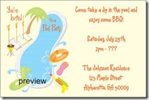 party birthday invitation sayings and free online birthday pool party