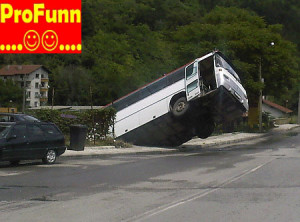 Google Earth Funny Images on Funny Pictures Bus Accident