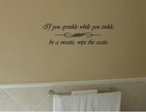 10. Quotes Bathroom Stencils For Walls Wall