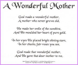 Love You Mother - Dedicate Prayers,Quotes,Poems for your Mother:)