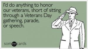 Funny Veterans Day Ecards