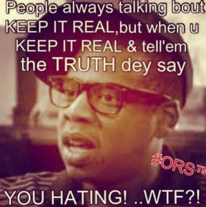 Keep it real... Loll