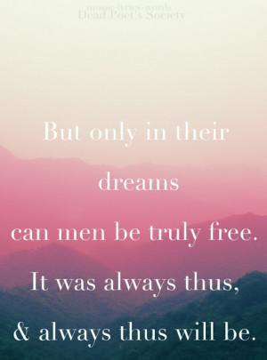 quote: dead poet's society