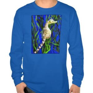 Funny Seahorse Father's Day T-shirt