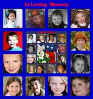 Sandy Hook elementary school angels my daughter was grace I'm never ...