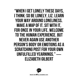 Loneliness - Inspiring Quotes: 10 Quotes To Help You Stop Stressing ...