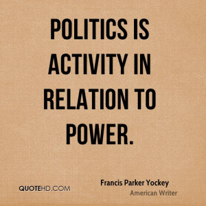 Quotes About Politics