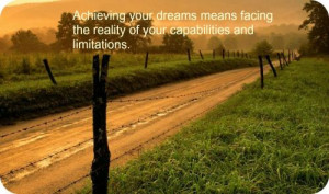 Achieving Your Dreams Means