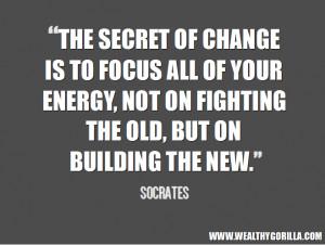 Focus Inspirational Quote