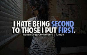 hate feeling like this.