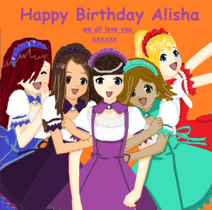Happy Late Birthday Alisha