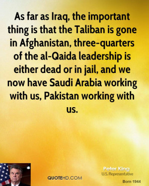 the Taliban is gone in Afghanistan, three-quarters of the al-Qaida ...