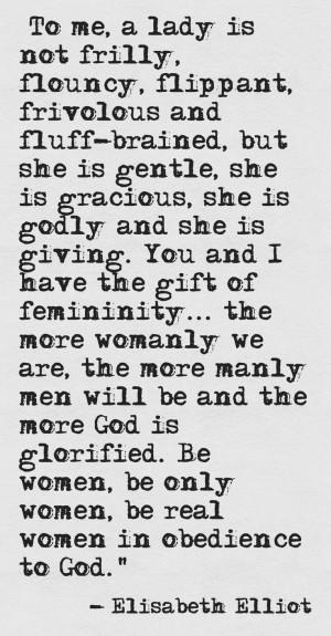 Elisabeth Elliot Quote