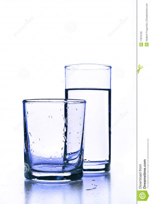 More similar stock images of ` Empty glass before full glass of fresh ...