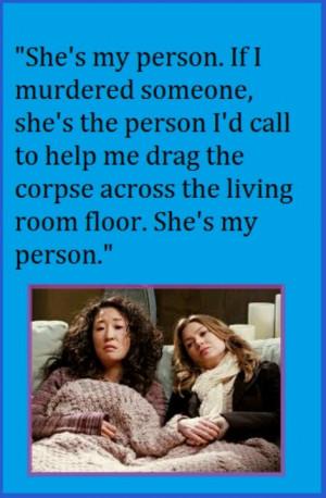 Grey's Anatomy-Meredith and Christina