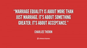 Marriage Equality About...
