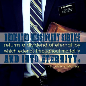 Why Mormon Boys Serve Missions
