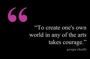 Georgia O'Keeffe Quotes