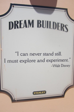 Walt disney, quotes, sayings, explore, experiment, business