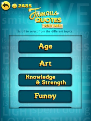 famous quotes scramble unscramble and share quotes from famous people ...