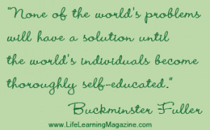 Self Directed Learning Quote