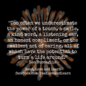 Leo Buscaglia quote