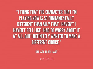 Calista Flockhart Quotes