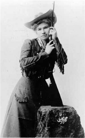 Annie Oakley - America's 1st Female Superstar & Legendary Figure of ...