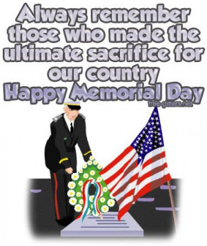 memorial day quotes Images and Graphics