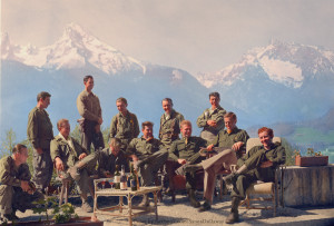 and his Easy Company (HBO's Band of Brothers) lounging at Eagle ...