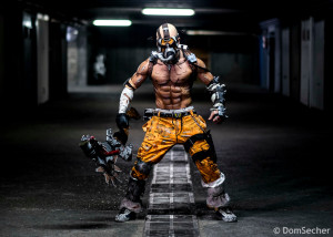 Krieg Psycho Borderlands Cosplay