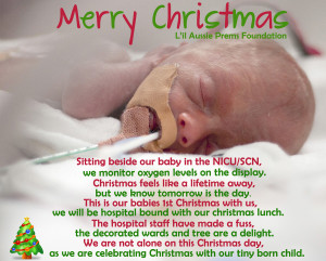 premature baby christmas