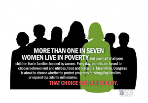 More Than One in Seven Women Live in Poverty - Infographic