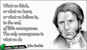 John Ruskin Quotes With...