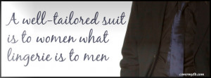 tailored suit Facebook Cover