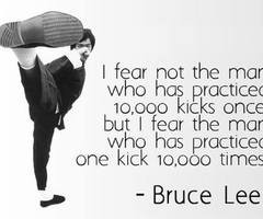 Bruce Lee Quotes About Fear