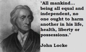 John Locke died October 28, 1704, in Oates, England.