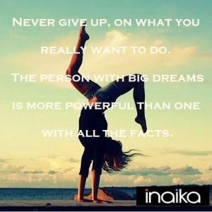 reaching goals - can't help but consider the idea