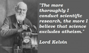 Lord Kelvin's quote #3