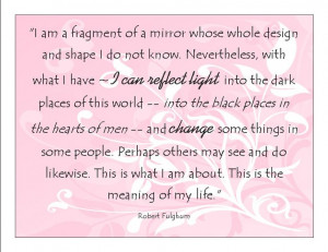 20 Reaching out to others mirror quote