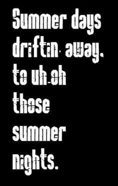 ... quotes music quotes more greas music music quotes summer night lyrics