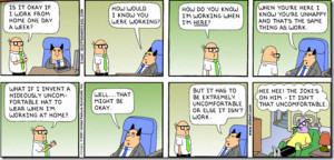 Dilbert comic strip for 12 16 2001 from the official Dilbert comic ...