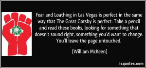 Fear and Loathing in Las Vegas is perfect in the same way that The ...