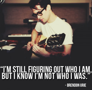 Panic! At the disco quote :) ♥ it … so true