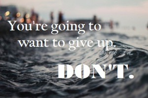 You Just Lost it All and Now You Want to Give Up? Read this first.