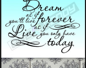 ... Inspirational Wall Lettering Words Quotes Sayings Removable Home Decal