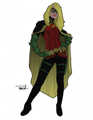 batman Spoiler robin Batgirl dc comics stephanie brown DC redesign